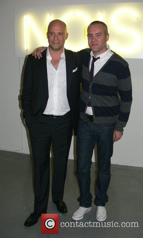 Thommy Hilfiger Germany CEO Oliver Timm and Jason...