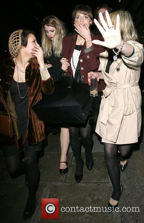 Peaches Geldof leaves the Nokia Launch party