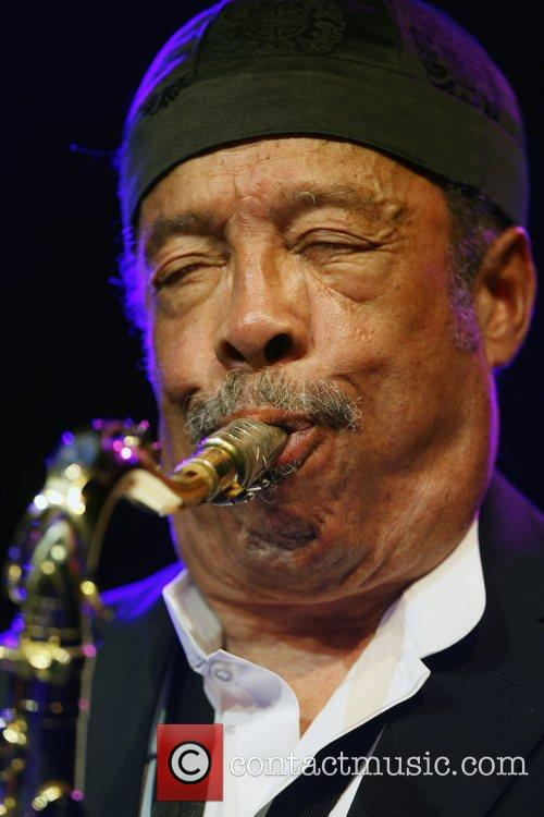 Johnny Griffin performing at the North Sea Jazz...