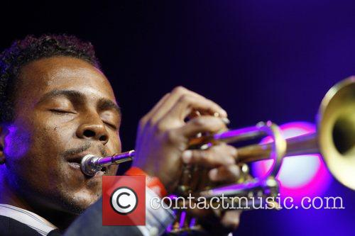 Roy Hargrove performing at the North Sea Jazz...