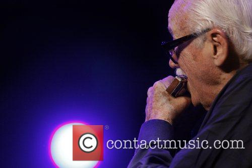 Toots Thielemans performing at the North Sea Jazz...