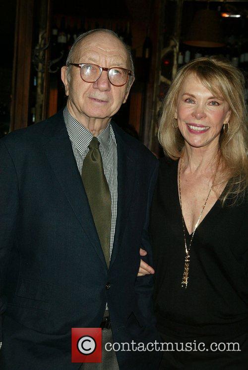 Neil Simon & Elaine Joyce Opening Night after...
