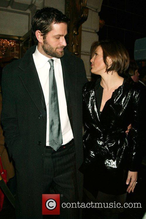 Peter Hermann & Mariska Hargitay Opening Night of...