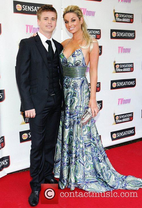 Brian Ormond and Pippa O'Connor TV Now Awards...