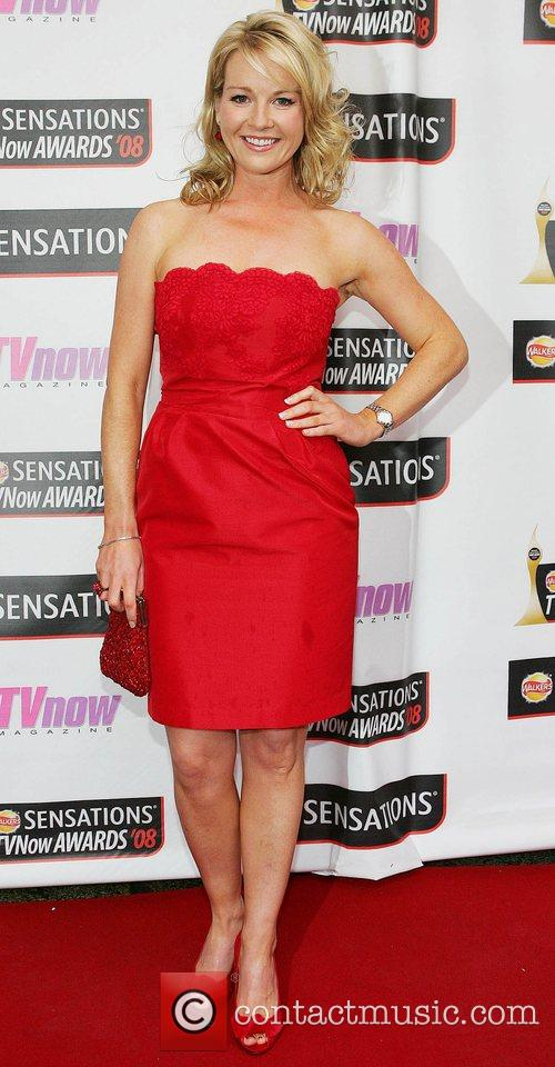 Claire Byrne TV Now Awards 2008 - Arrivals...