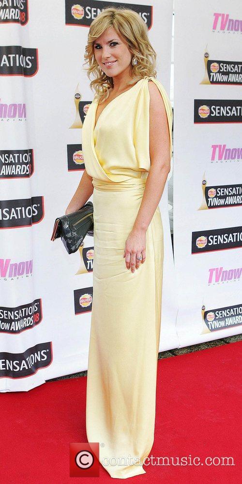 Jenny Buckley TV Now Awards 2008 - Arrivals...
