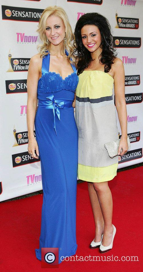 Katherine Kelly and Michelle Keegan TV Now Awards...