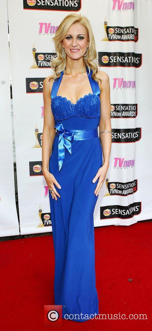 Katherine Kelly TV Now Awards 2008 - Arrivals...