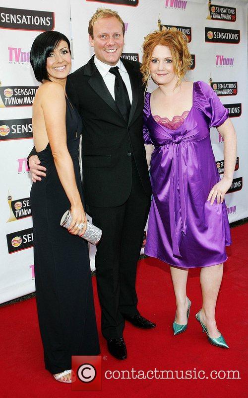 Kym Ryder, Sean Tully and Jennie McAlpine TV...