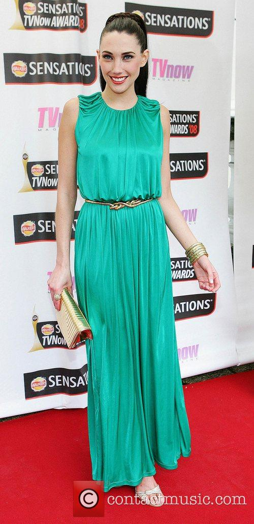 Michelle Doherty TV Now Awards 2008 - Arrivals...