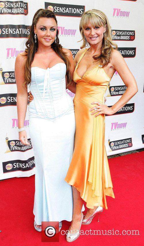 Michelle Heaton and Tara Sinnott TV Now Awards...