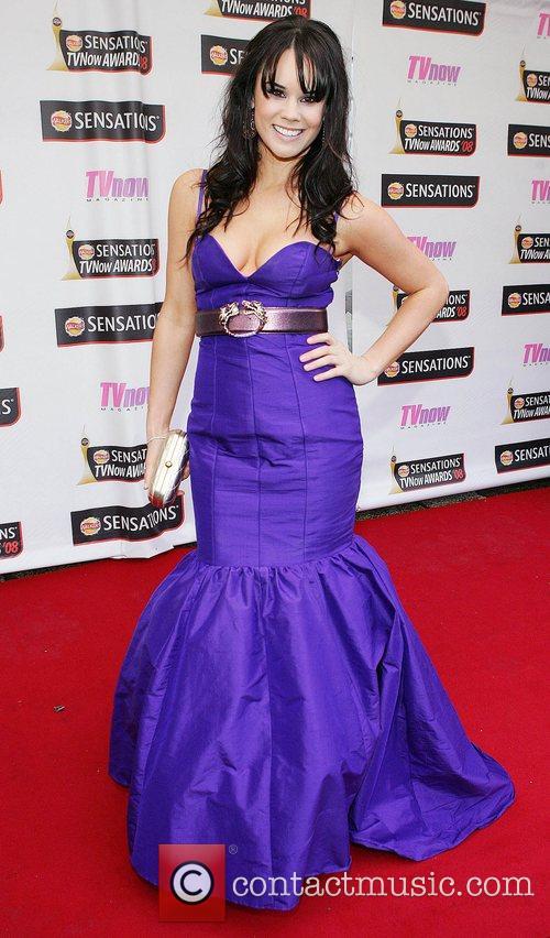 Rachael Kavanagh TV Now Awards 2008 - Arrivals...