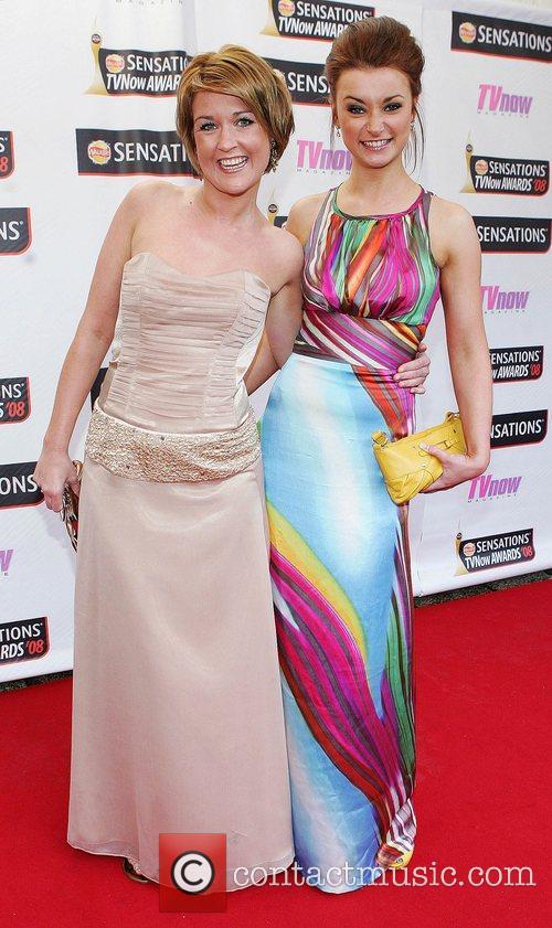 Sorcha Furlong and Jenny Kavanagh TV Now Awards...