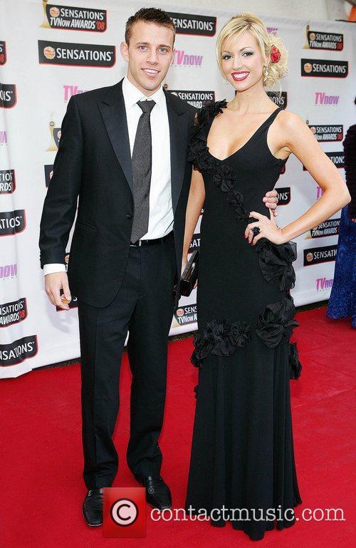 Wesley Quirke and Rosanna Davison TV Now Awards...