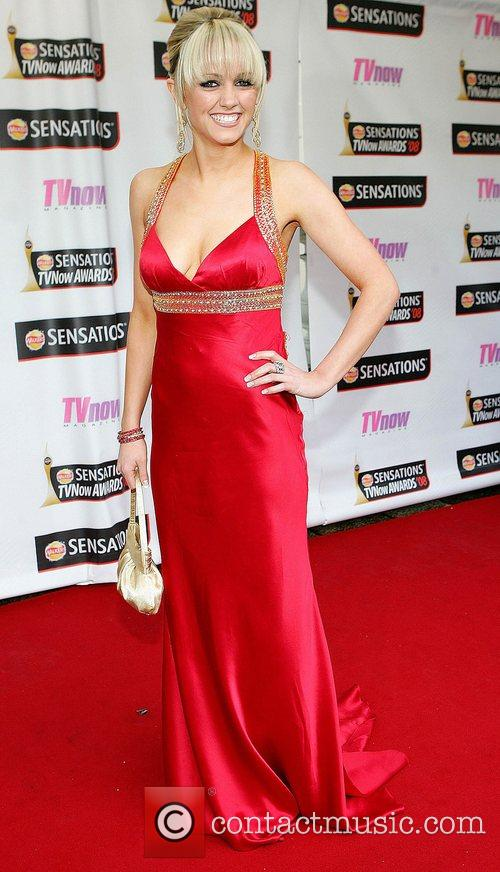 Leanne Moore TV Now Awards 2008 - Arrivals...