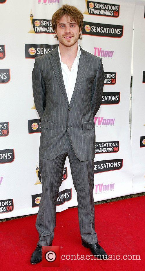 Robert Kazinsky TV Now Awards 2008 - Arrivals...