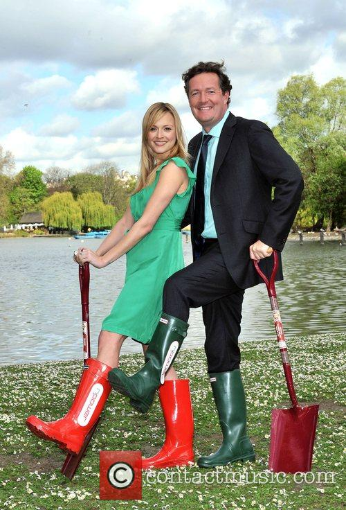 Piers Morgan and Fearne Cotton 6