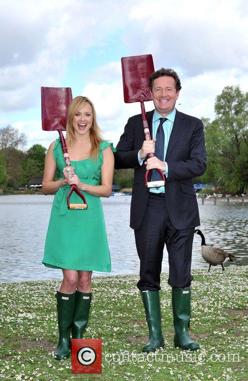 Piers Morgan and Fearne Cotton 4