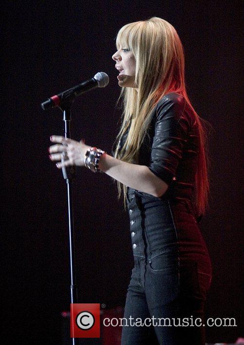 Liz McClarnon of Atomic Kitten performing at the...