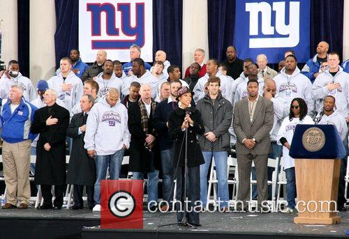 New York Giants victory ticker tape parade to...