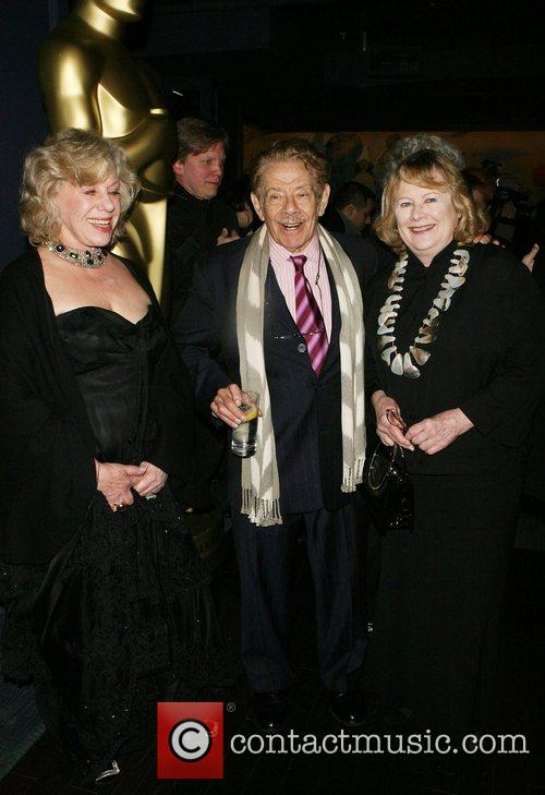 Erica Jong, Jerry Stiller and Shirley Knight