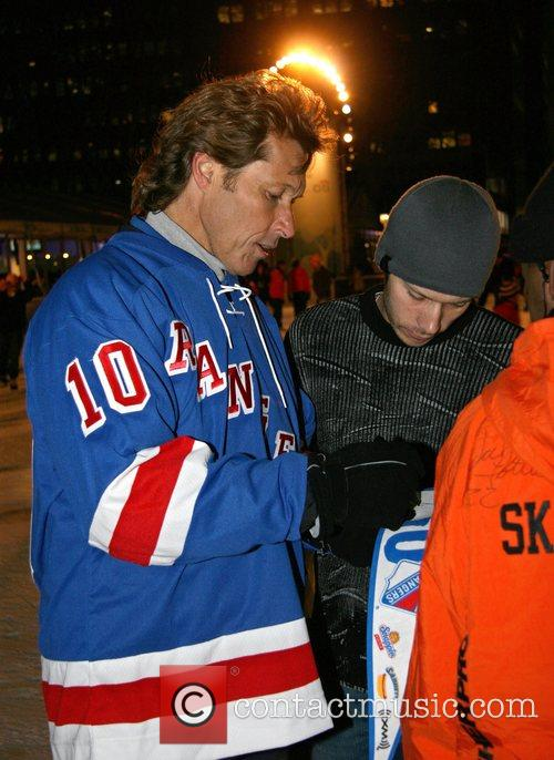 Ron Duguay  New York Rangers annual toy...