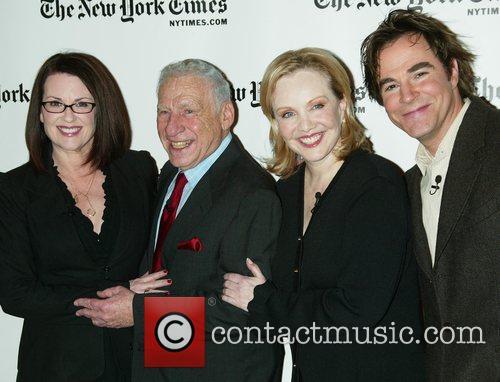 Megan Mullally, Mel Brooks, Susan Stroman and Roger...