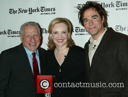 Mel Brooks, Susan Stroman and Roger Bart The...