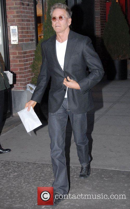 Calvin Klein leaving his Manhattan hotel New York...
