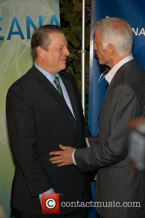 Al Gore and Ted Danson The Annual Oceana...