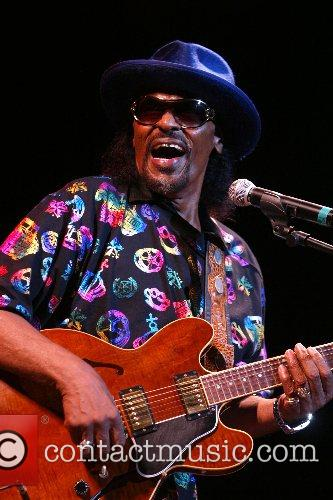 Chuck Brown performing at the 30th Year celebration...