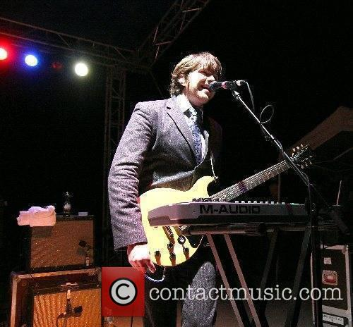 Andy Ross of OK GO  performing live...