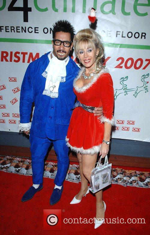 Sally Farmiloe with friend Austin Club 4 Climate...