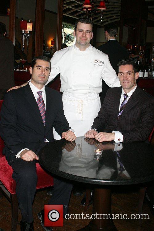 William Resk, Albert DiMeglio, Patrick Resk Opening of...