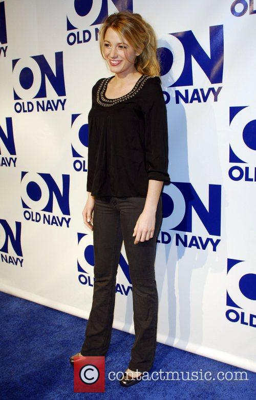 Blake Lively Old Navy brand relaunch party titled...