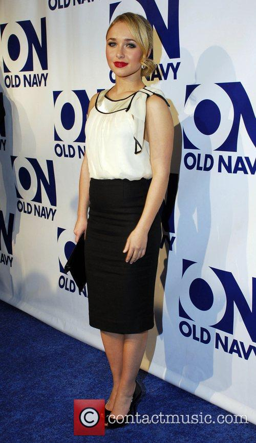 Hayden Panettiere Old Navy brand relaunch party titled...