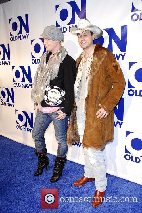 Richie Rich and Traver Rains Old Navy brand...