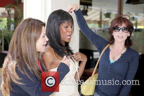 Omarosa Manigault-Stallworth, Donald Trump, Marilu Henner and THE APPRENTICE 5