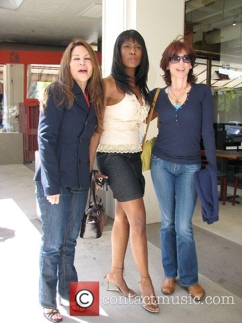 Omarosa Manigault-Stallworth, Donald Trump, Marilu Henner and THE APPRENTICE 15