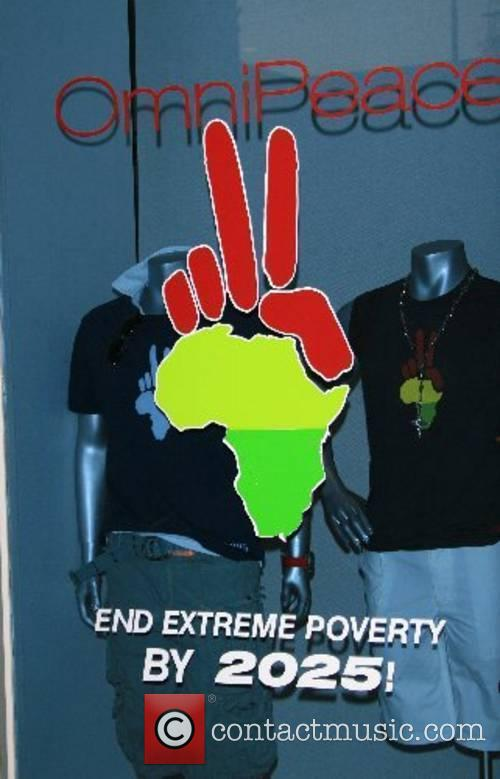 Atmosphere Omnipeace event, to stop extreme poverty in...
