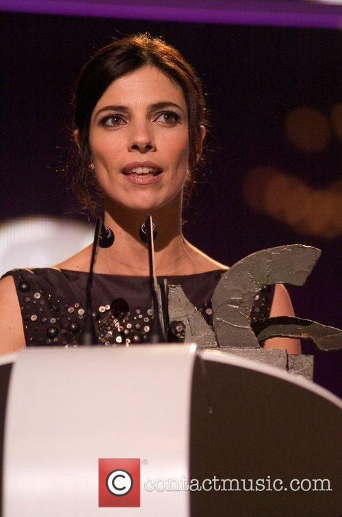 Maribel Verdu on stage at the Onda Awards...