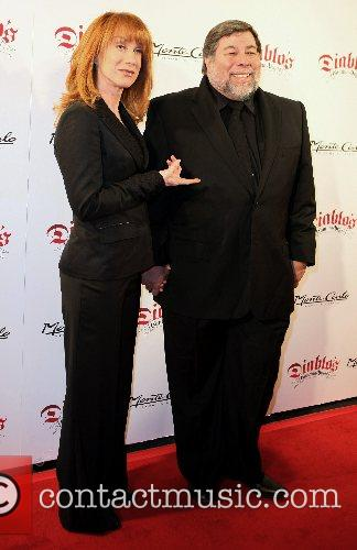 Kathy Griffin and guest Diablo's Cantina Grand Opening...