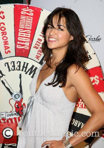 Michelle Rodriguez Diablo's Cantina Grand Opening  at...