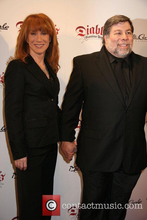 Kathy Griffin and Steve Wozniak Diablo's Cantina Grand...