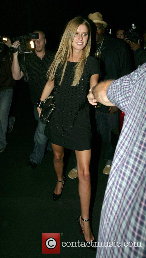 Leaving Opera nightclub after the launch of Hornitos...