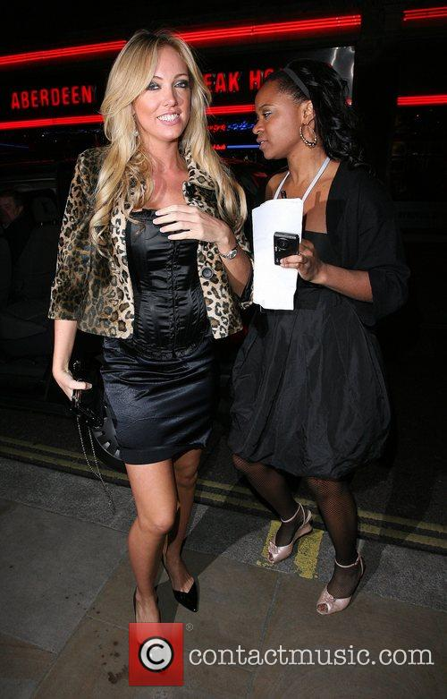 Aisleyne Horgan-Wallace arrives at the launch party for...