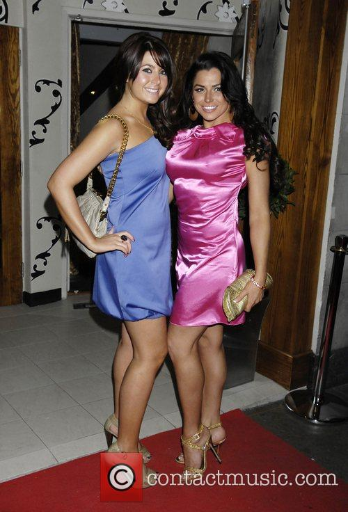 Guest and Louise Glover The Orchid Bar Launch...