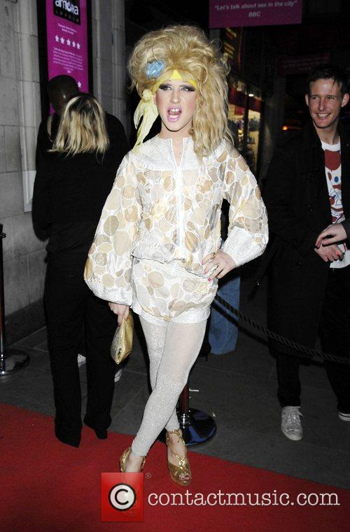 Jodie Harsh The Orchid Bar Launch Party -...