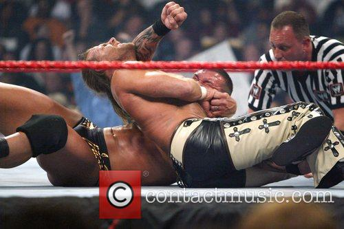 Randy Orton and Shawn Michaels WWE presents Cyber...