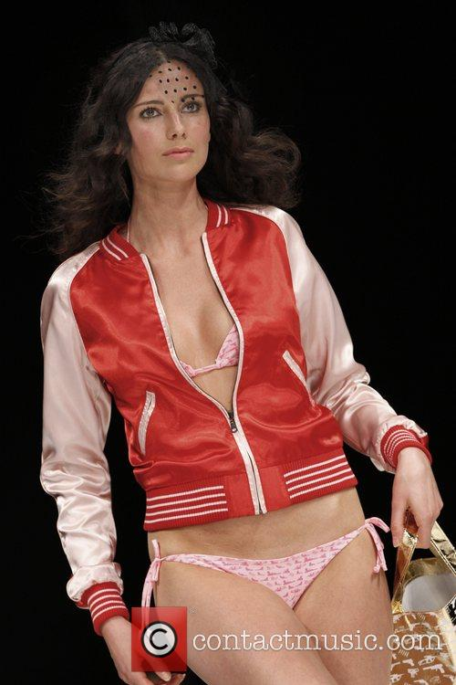 Judith Osborn fashion show during the Amsterdam Fashion...